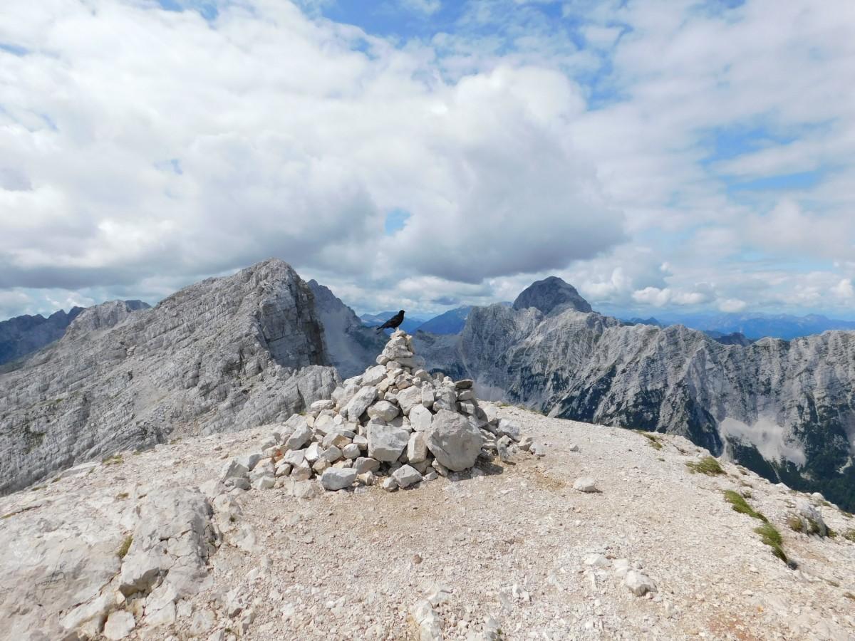 Zdjęcia: mała mojstrovka, Alpy Julijskie, na szczycie , SłOWENIA