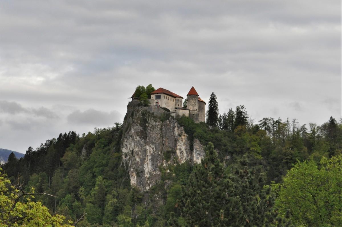 Zdjęcia: Bled, Góry, Bled, zamek, SłOWENIA