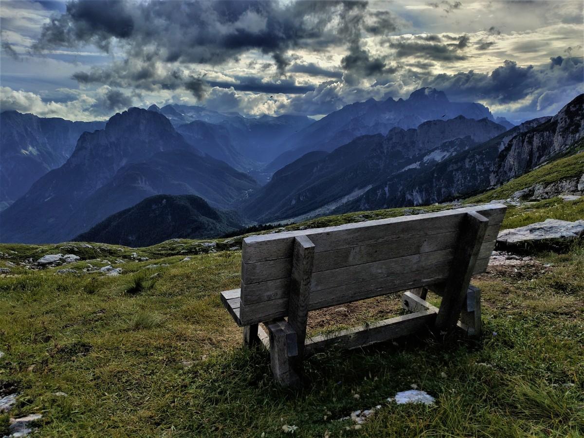 Zdjęcia: Alpy, Alpy Julijskie, Ławeczka, SłOWENIA
