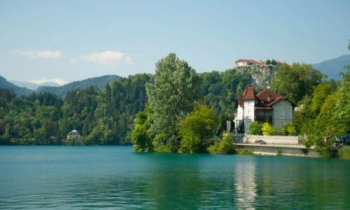 SłOWENIA / - / Bled / Bled jezioro i zamek