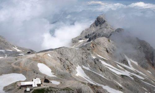 Zdjecie SłOWENIA / Alpy Julijskie / Triglav / W chmurach