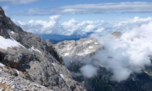 Zdjecie SłOWENIA / Alpy Julijskie / Triglav / W chmurach 2