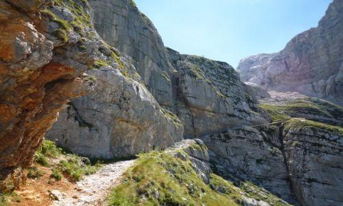 Zdjecie SłOWENIA / alpy julijskie / gdzieś na szlaku od TRENTY / TRIGLAV