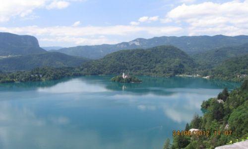 SłOWENIA / Słowenia / Bled / Jezioro Bled