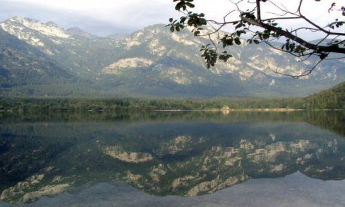 Zdjecie SłOWENIA / - / Ribcev Laz / Jezioro Bohinj