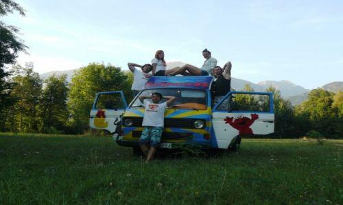 Zdjecie SłOWENIA / - / okolice Bled / Tripowóz w okolicach miejscowości Bled