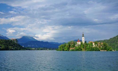 Zdjecie SłOWENIA / Triglavski Park Narodowy w Alpach Julijskich / Bled / Jezioro Bled