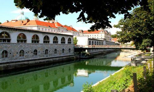 SłOWENIA / Lublana / Lublana / Ljubljanica