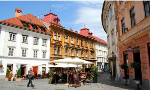 Zdjecie SłOWENIA / Lublana / Lublana / starówka