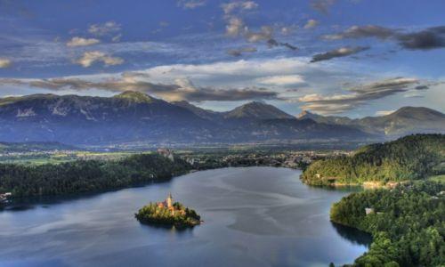 Zdjecie SłOWENIA / Zachodnia Slowenia / Bled / Widok na jezioro Bled