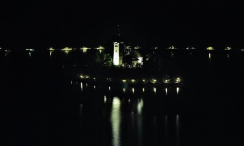 Zdjęcie SłOWENIA / Górna Kraina / Bled / Bled, kościół na wyspie