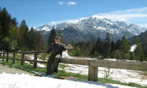 Zdjecie S�OWENIA / Triglavski narodni park / Triglavski narodni park / Wiosenny �nieg