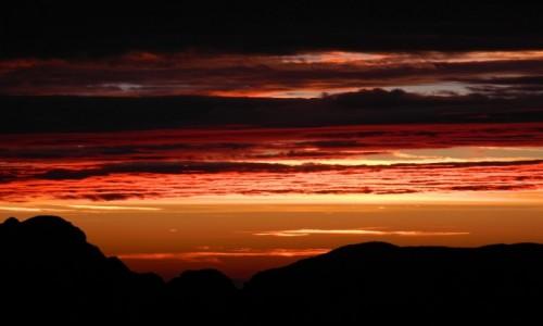 Zdjęcie SłOWENIA / alpy julijskie / okolice Mangart / wschód słońca pod Mangart