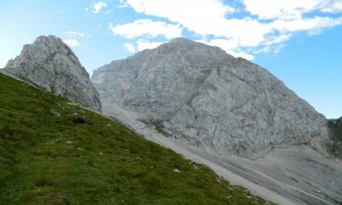 Zdjecie S�OWENIA / alpy julijskie / okolice Mangart / Mangart w obiek