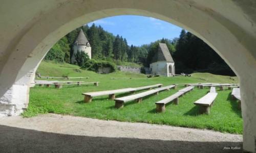 Zdjecie SłOWENIA / Słowenia Wschodnia / Zice / Zice - fragment murów obronnych