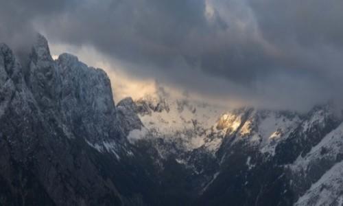Zdjecie SłOWENIA / Alpy / Alpy / do nieba