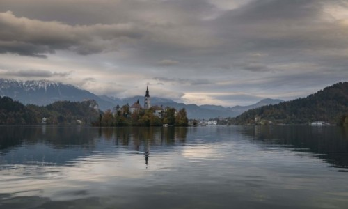 Zdjęcie SłOWENIA / Alpy / Bled / klasztor