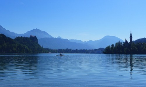 SłOWENIA / - / Jezioro Bled / Jezioro Bled