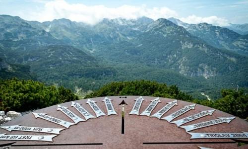 Zdjęcie SłOWENIA / Alpy Julijskie / Zadni Vogel / na zachód...