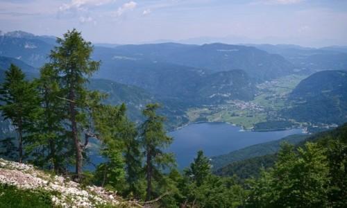 Zdjęcie SłOWENIA / Alpy Julijskie / Vogel / z góry...