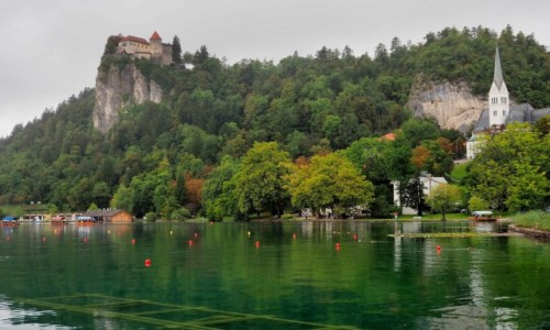 Zdjęcie SłOWENIA / Alpy Julijskie / Bled / pojaśniało...