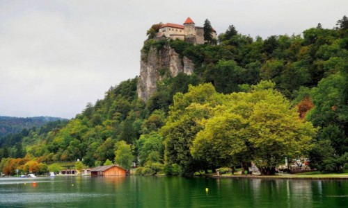 Zdjęcie SłOWENIA / Alpy Julijskie / Bled / Blejski Grad...