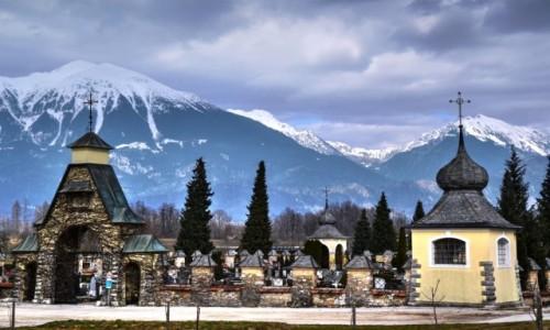 Zdjęcie SłOWENIA / Górna Kraina / Bled / Wieczny spoczynek u podnóża Alp Julijskich