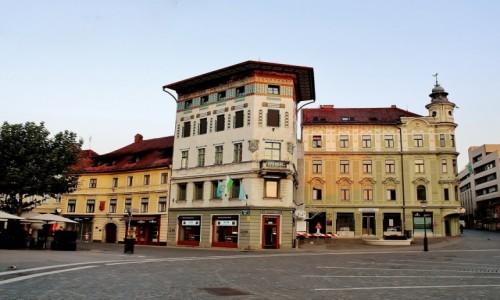 Zdjecie SłOWENIA / Primorje / Lublana / Dom Hauptmanna z 1873 roku