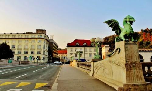 SłOWENIA / Primorje / Lublana / Smoczy Most z 1901 roku
