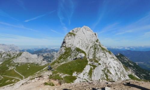 Zdjecie SłOWENIA / Alpy Julijskie / na szlaku / Mały Mangart