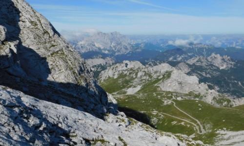 SłOWENIA / Alpy Julijskie / w drodze na Mangart  / Alpy Julijskie