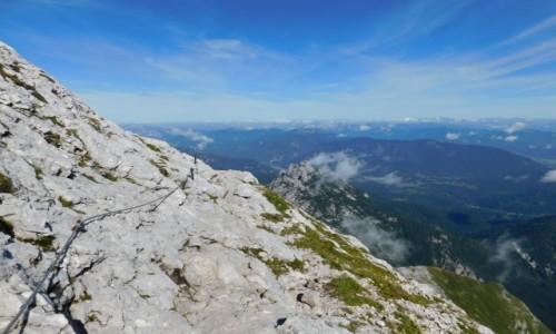 Zdjecie SłOWENIA / Alpy Julijskie / na szlaku / ferraty pod Mangart