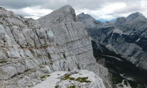 Zdjecie SłOWENIA / Alpy Julijskie / mała mojstrovka / widok ze szczytu