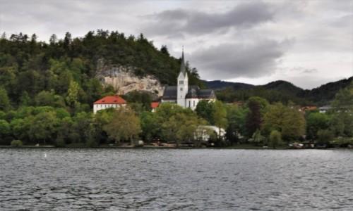 Zdjecie SłOWENIA / Góry / Bled / Bled, miasteczko