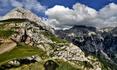 Zdjecie SłOWENIA / Alpy Julijskie / Alpy / widok na Mangart