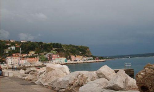 Zdjecie SłOWENIA / wybrzeże Adriatyku / Piran / nad Słoweńskim morzem