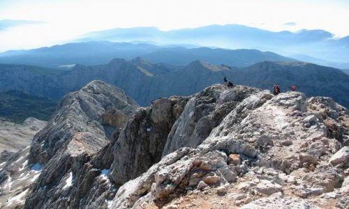 Zdjecie SłOWENIA / Triglavski Narodni Park / widok z Triglavu / Alpy Julijskie