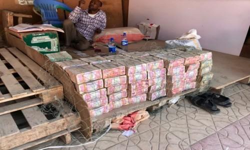 Zdjęcie SOMALILAND / Region Woqooyi Galbeed / Hargejsa / Uliczny kantor