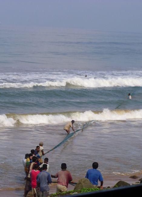 Zdjęcia: widok z pociągu Galle-Colombo, Western, wspólny interes, SRI LANKA
