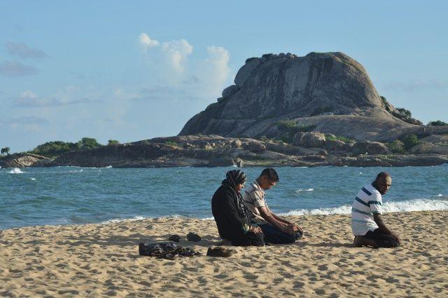 Zdjęcia: Yala Nationale Park, Yala Nationale Park, Popołudniowa modlitwa, SRI LANKA