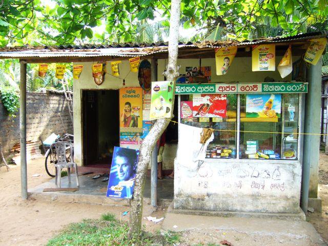 Zdjęcia:  ,  , Przydrożny sklep, SRI LANKA