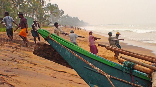 Zdjęcia: Okolice Kalutary, Zachodnie wybrzeże, W krainie ludzi morza, słoni i palm kokosowych (nareszcie finisz)., SRI LANKA