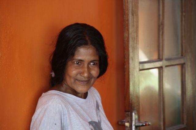 Zdjęcia: Hikkaduwa, Poludnie, Portret kobiety, SRI LANKA