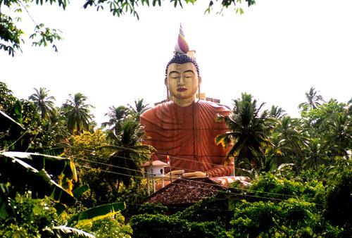 Zdj�cia: Sri Lanka �rodkowa, Przydro�ny BUDDA, SRI LANKA