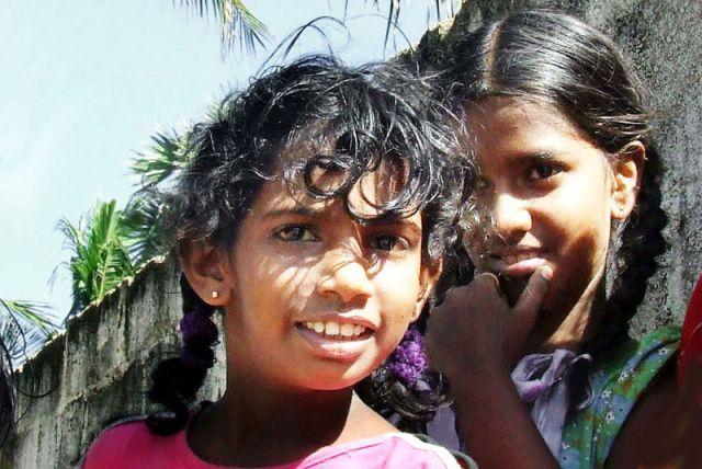 Zdjęcia: dziewczynki, SRI LANKA