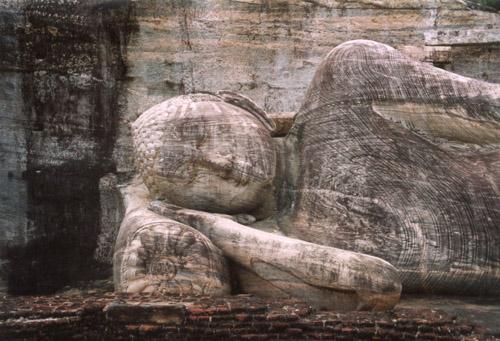 Zdjęcia: Polonnaruwa, Leżący BUDDA, SRI LANKA