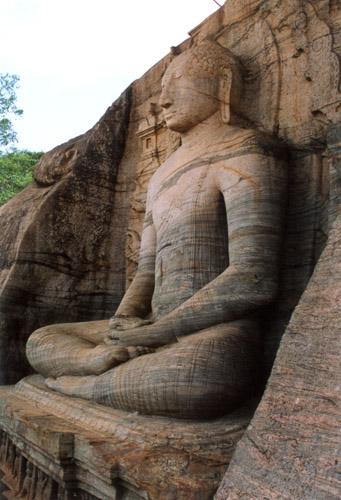 Zdjęcia: Polonnaruwa, Oświecony BUDDA, SRI LANKA
