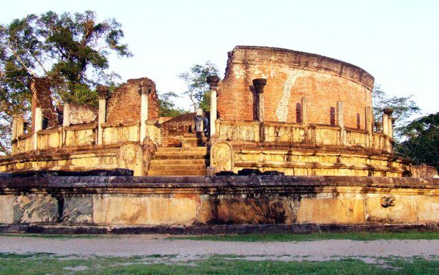 Zdjęcia: pozostałości pałacu, SRI LANKA