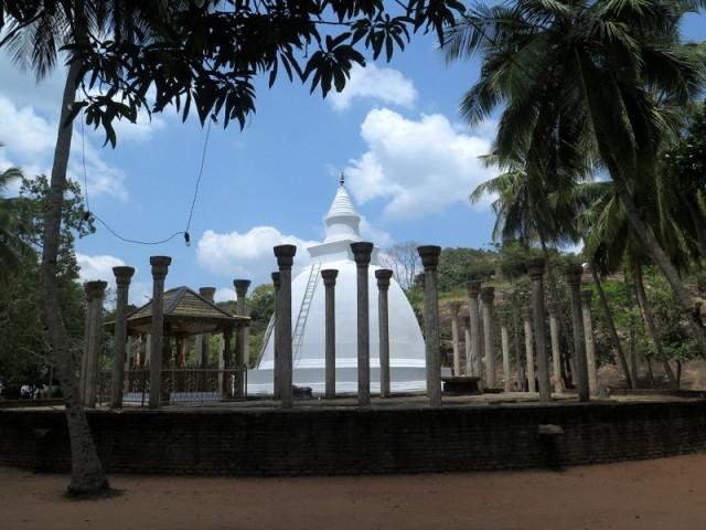 Zdjęcia: Mihintale, Trójkat Kulturowy, Dagoba Drzewa Mangowego, SRI LANKA