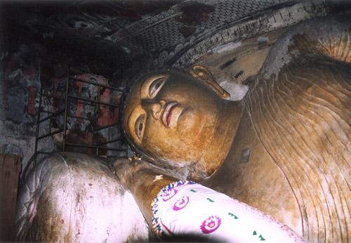 Zdj�cia: Dambulla, Jaskinie (Pos�gi BUDDY), SRI LANKA
